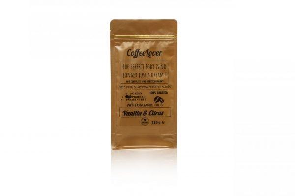 CoffeeLover body scrub 80 gr.